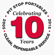 Pit Stop Portables 10 year anniversary