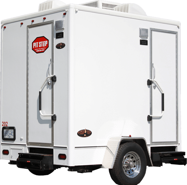 Luxury Executive Washroom Trailers